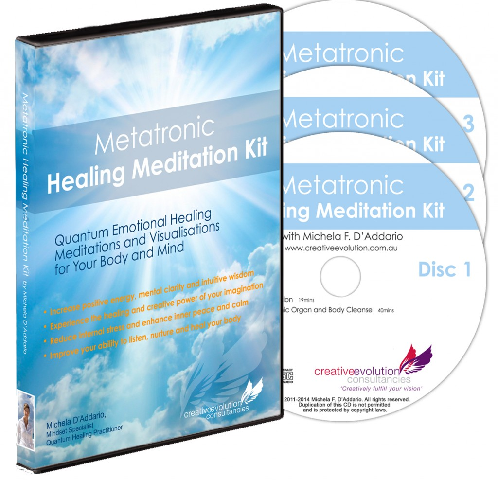 Metatronic Healing Meditation Kit
